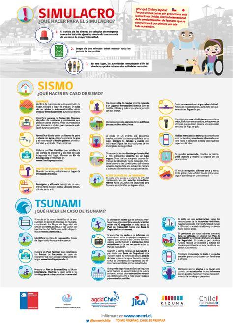 afiches de un sismo binacional chile jap 243 n 2016 onemi ministerio del