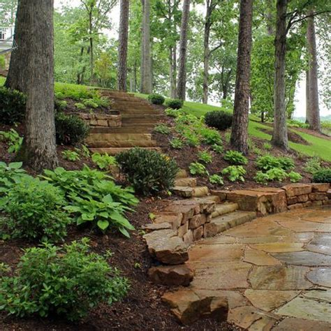 landscaping ideas for hillside backyard 25 best ideas about hillside landscaping on