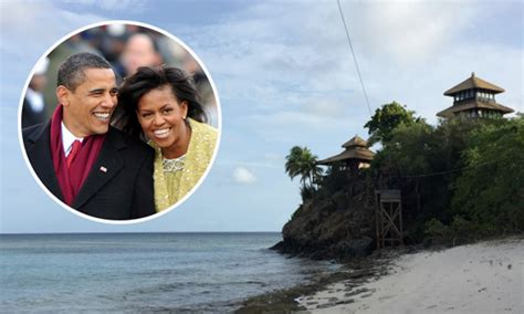 obama island barack and michelle obama vacation on richard branson s