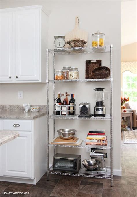 Wire Pantry Shelving Units Best 25 Wire Shelves Ideas On Wire Shelving
