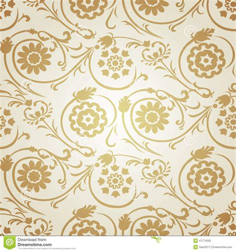 Decorative Seamless Pattern In Ottoman Motif Stock Photo Ottoman Motifs