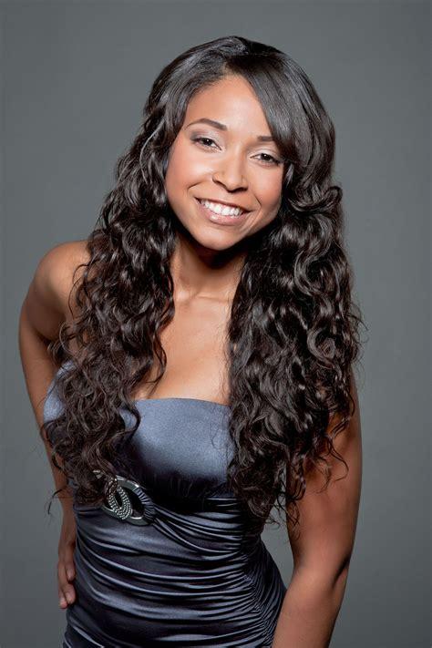 simple  beautiful weave hairstyles  black women