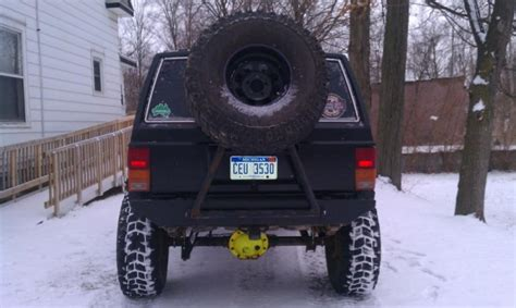 swing down tire carrier swing down tire carrier page 2 jeep cherokee forum