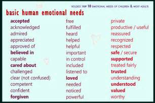 emotional needs quotes like success