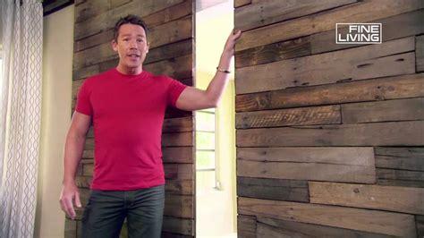 rivestire una parete in legno la guida all arredamento secondo david bromstad i