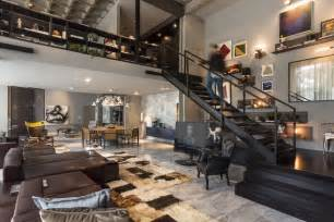 Loft Layout by Perfect Merger Between Art And Design Contemporary