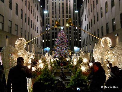 nyc christmas lights tour new york city events december 2017 rockefeller tree
