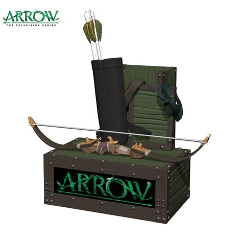 Batman Desk Arrow Tv Series Pen And Paper Clip Holder