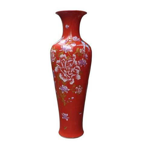 Indoor Vases by Large Porcelain Yulan Magnolia Floor Vase For Indoor