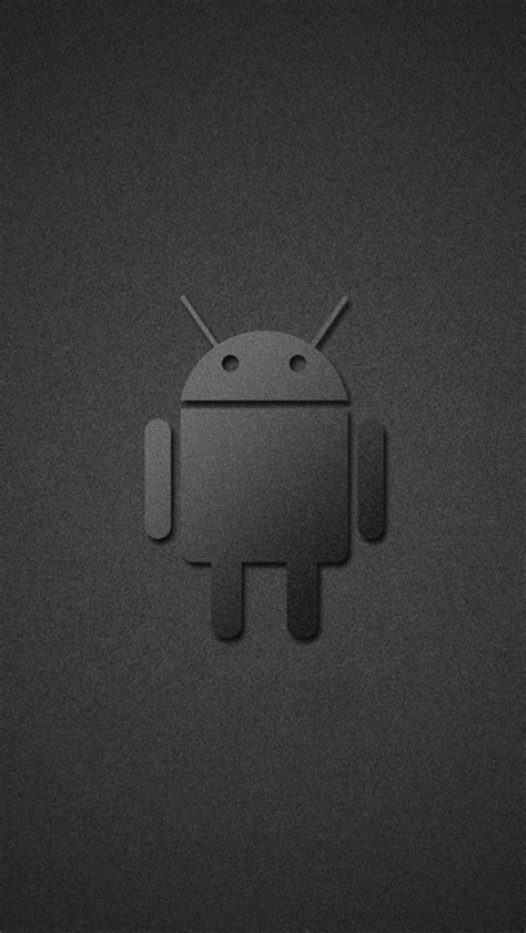 Wallpaper Grey Android   grey android iphone 5 hd wallpaper