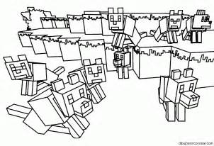 free coloring pages minecraft skins