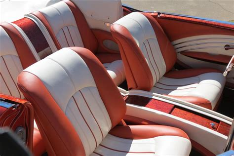 Interior Upholstery by 1956 Chevy Convertible Custom Leather Interior Interiors