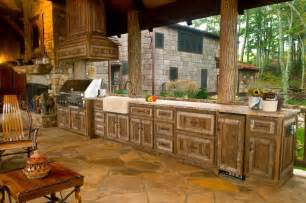 rustic outdoor kitchen designs kitchenstir