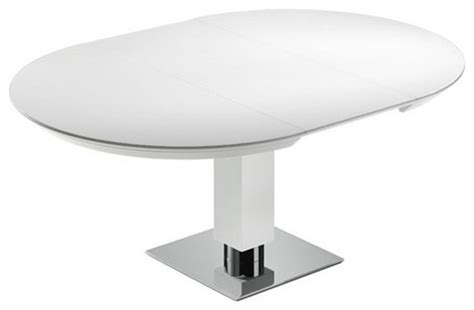 Todo From Bacher Round Extendable Dining table With Glass