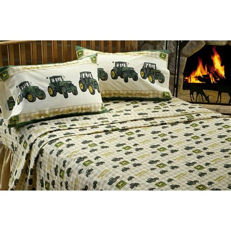 john deere bedding set john deere 174 sheet set 78324 bedding accessories at sportsman s guide