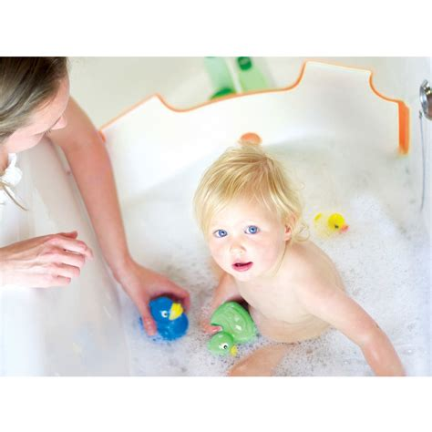 bathtub water dam babydam bath barrier baby toddler kids tub bathtub bathing