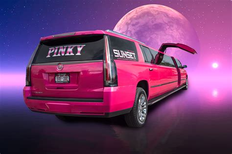 Pink Limo by Denver Limo Service Sunset Limo Sunset S Pink Limo