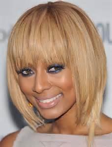hair extensions for bob haircut keri hilson blonde bob hairstyle in shoulder cut