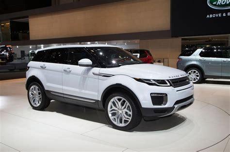 2016 range rover evoque pricing revealed autocar
