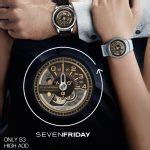 Seven Friday M2 Black Silver sevenfriday m2 watchfaces for smart watches