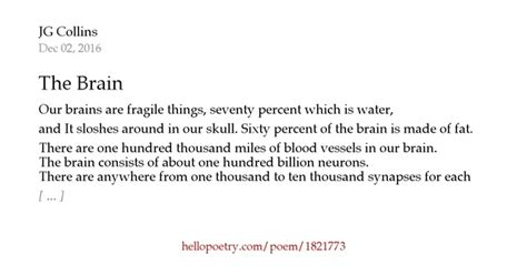 the brain by jg collins hello poetry the brain by jg collins hello poetry