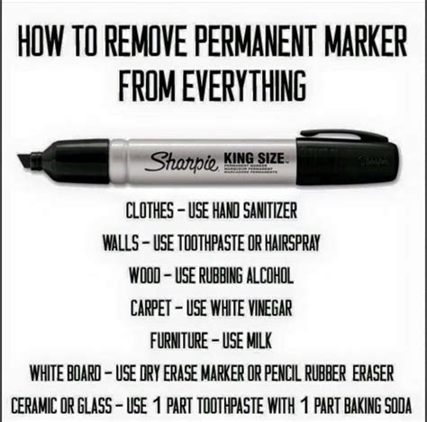 how to remove sharpie permanent marker from carpet walls