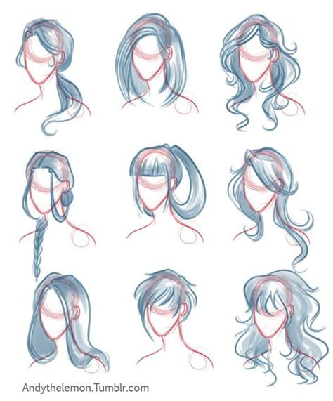 Drawing Hair by The World S Catalog Of Ideas