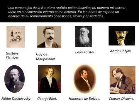 imagenes no realistas y sus autores romanticismo y realismo siglo xix