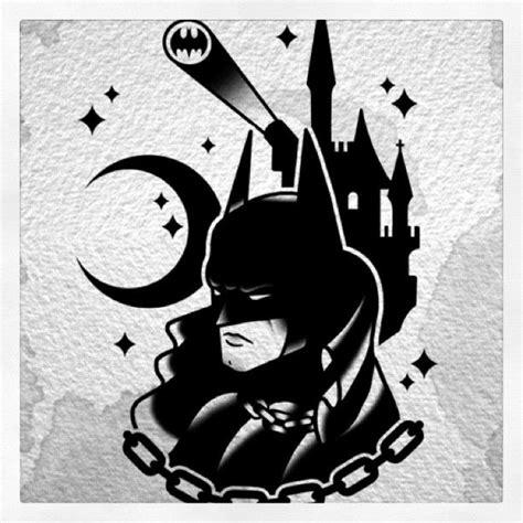 tattoo new school batman darkknight batman dccomics bat gotham tattoo
