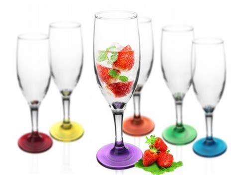 bicchieri prosecco 6 bicchieri di chagne calici color prosecco occhiali
