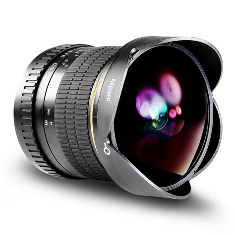 Fisheye Kamera Dslr Canon neewer kit 8mm f 3 5 obiettivo fisheye asferico alta