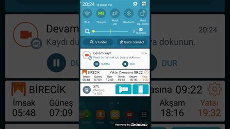 Samsung J5 Feb 16 bildirim paneli uygulama d 252 zenle taşı 231 ubuk değiştir