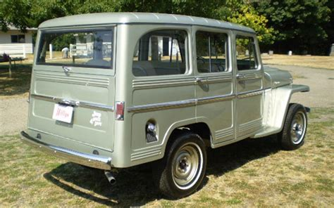 jeep station wagon 1960 willys 4 door station wagon 66157