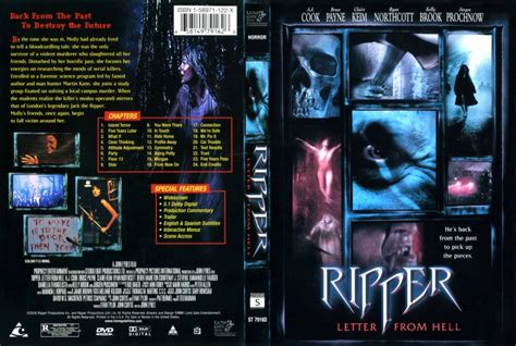 ripper letter from hell movie dvd scanned covers