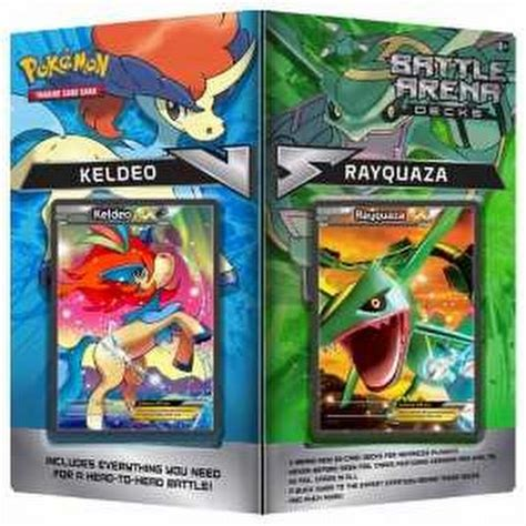 Tcg Trading Card Battle Arena Decks Rayquaza Vs Keldeo Battle Arena Decks Rayquaza Vs Keldeo 29