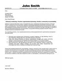 best marketing cover letters marketing executive cover letter