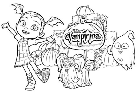 Disney Junior Vampirina Free Printable Coloring Pages Free Coloring Pages For Toddlers L