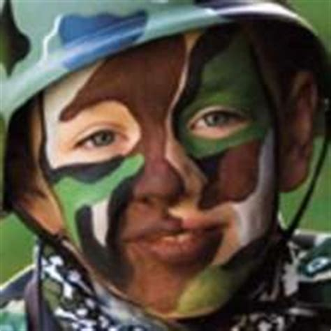 tattoo camo maquillaje face painting camouflage or soldier this is from a