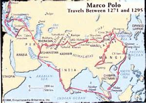 Marco Polo Route Map by Gallery For Gt Marco Polo Route Travelled