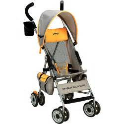 jeep wrangler all weather umbrella stroller orange
