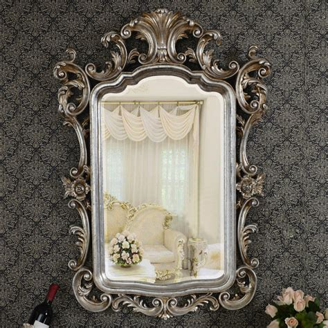wall decor mirrors deboto home design the beauty of mirror wall european antique refined mirror luxury silver frame decor
