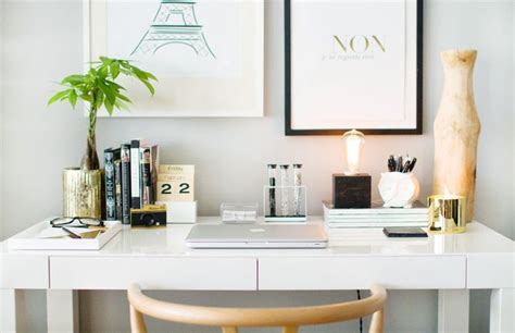 West Elm Parsons Desk White by How To Style A West Elm Parsons Desk White Lacquer