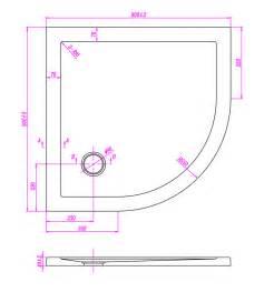 dimensioni docce piatto doccia filo pavimento semicircolare in acrilico cm