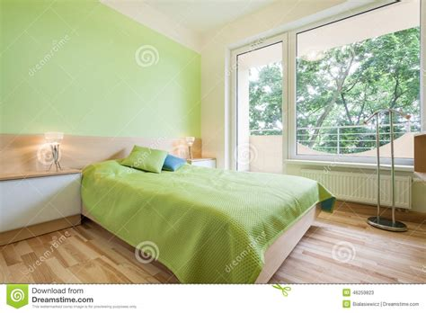 bright green bedroom green bedroom stock photo image 46259823