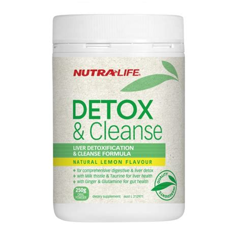 Vitamins For Detoxing The by Discount Vitamins Nutra Detox And Cleanse 375g