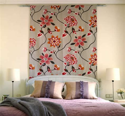 decorar paredes con telas alfombras modernas como decorar