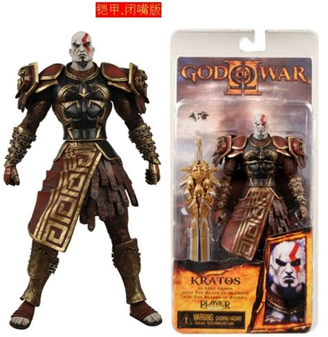 Neca Kratos God Of War With Medusa And Golden Armor Fleece 2017 2015 neca god of war kratos medusa 7 figure frozen from wj24051 14 08