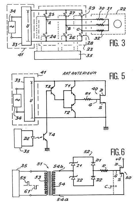 commande transistor igbt patent ep0486359a1 circuit de commande de commutation basse fr 233 quence de transistors 224 effet