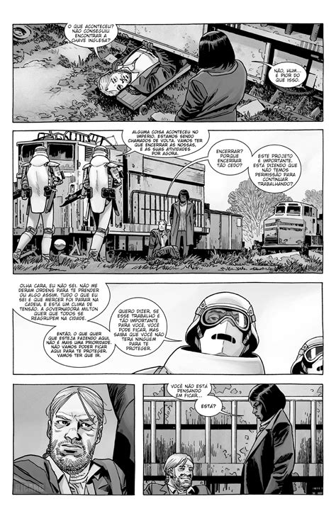 The Walking Dead - Volume 32 #188 - Galáxia dos Quadrinhos