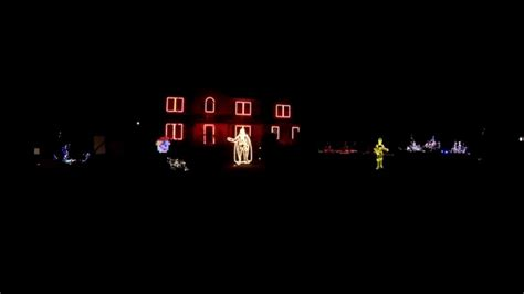 2015 canigiani christmas light show galactic empire